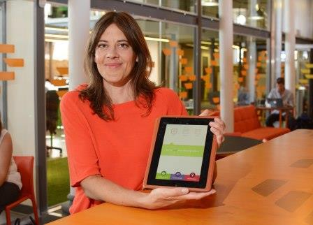 Deborah Wilder has created an app that can calculate the carbohydrates and other things in home cooked food. It can help people with diabetes and other conditions. Date: 28/08/2015 Photographer: Michael Lloyd/Freelance 07720782684 Reporter: Gavin Thompson Copyright: Local World